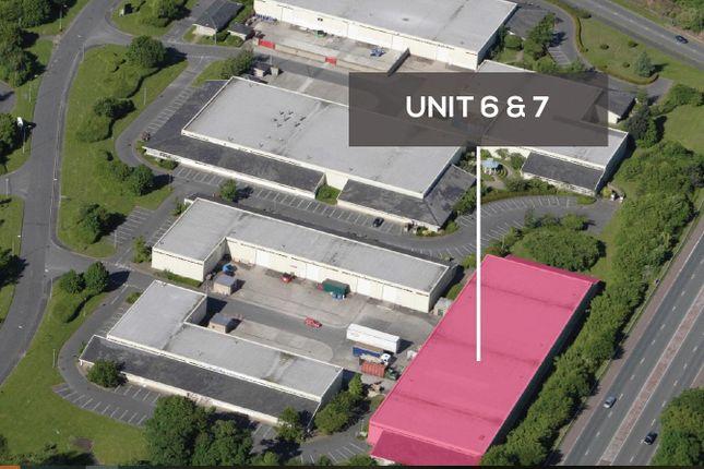 Thumbnail Warehouse to let in 6&7 Boleyn Court, Manor Park, Runcorn, Cheshire