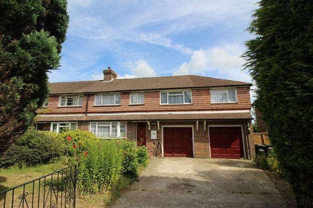 Thumbnail End terrace house for sale in Hawks Road, North Hailsham