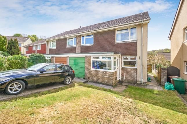 Thumbnail Semi-detached house for sale in Goosewell, Plymstock, Devon
