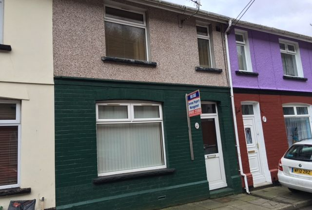 Thumbnail Terraced house for sale in Woodland Terrace, Aberbeeg, Abertillery, Gwent