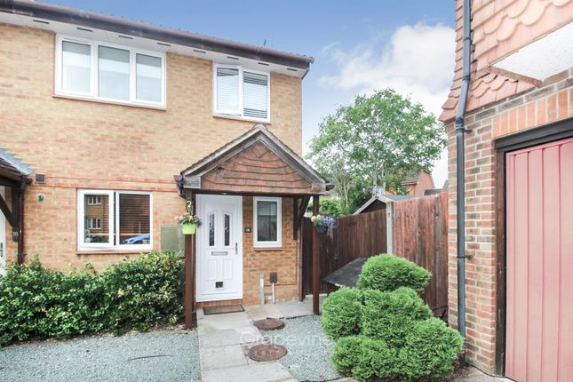 Thumbnail Semi-detached house for sale in Hubbard Close, Twyford, Reading