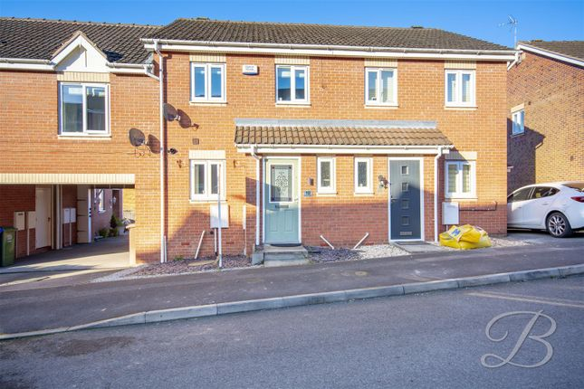 3 bed terraced house to rent in Dewberry Gardens, Forest Town, Mansfield NG19