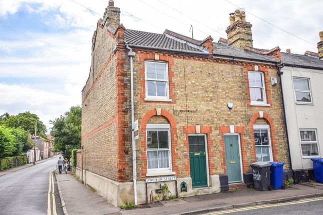 Thumbnail End terrace house for sale in Lowther Street, Newmarket