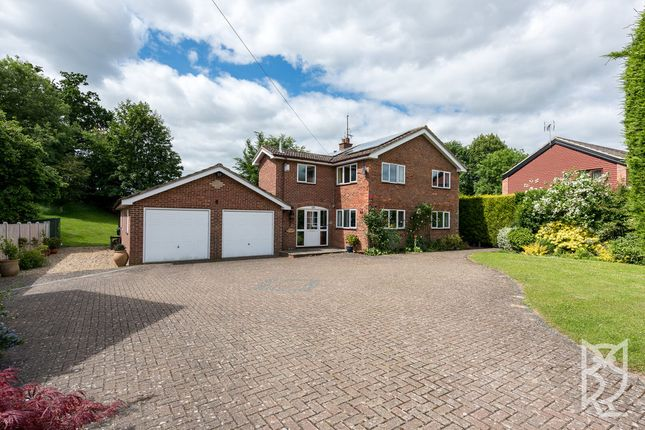 Thumbnail Detached house for sale in Capel St Mary, The Street, Ipswich