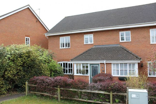 Thumbnail Semi-detached house for sale in Guildford Road, Ash