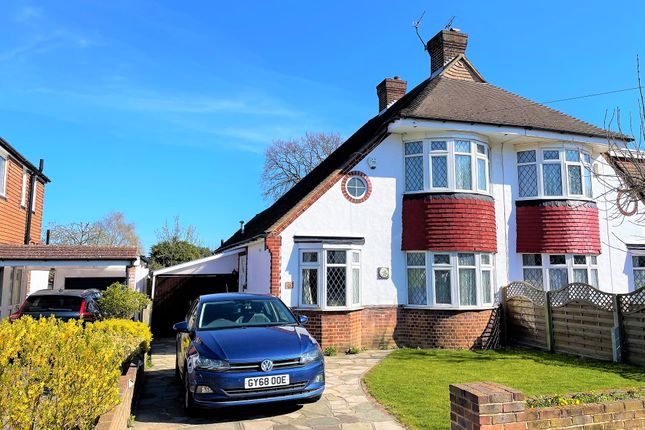 Thumbnail Semi-detached house for sale in Nightingale Road, Petts Wood, Orpington