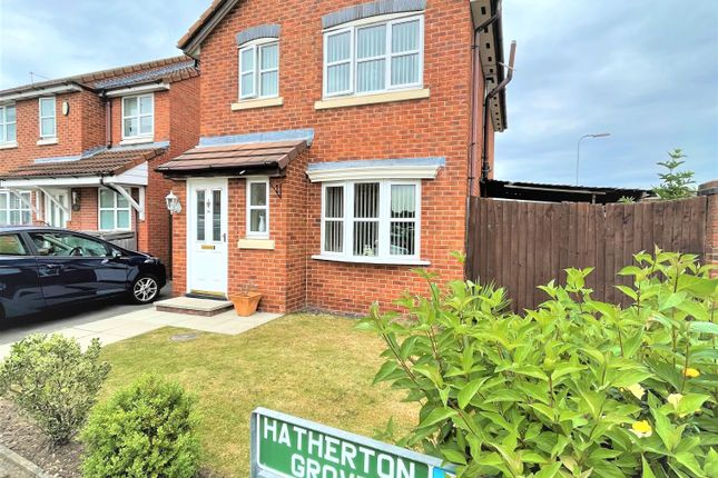 Thumbnail Detached house for sale in Hatherton Grove, Halewood