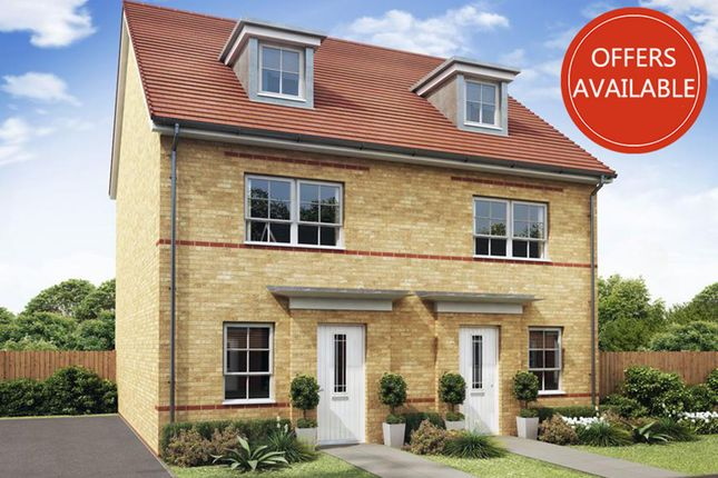 """Thumbnail End terrace house for sale in """"Kingsville"""" at Coulson Street, Spennymoor"""