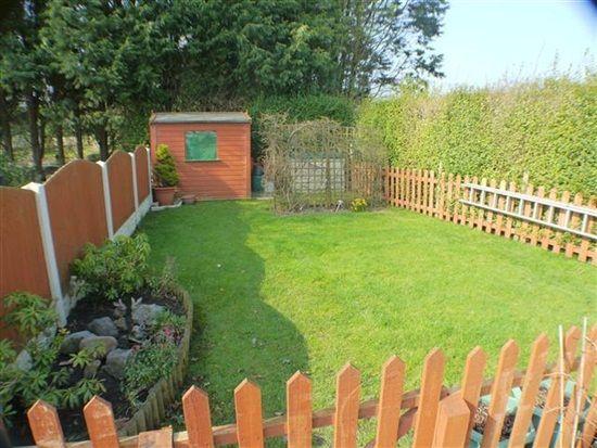 Garden of Sunnyside Terrace, Preesall, Poulton Le Fylde FY6