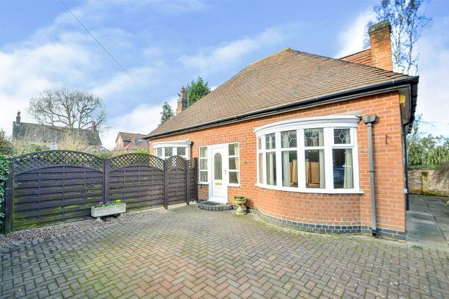 Thumbnail Detached bungalow for sale in Trowell Grove, Long Eaton, Nottingham