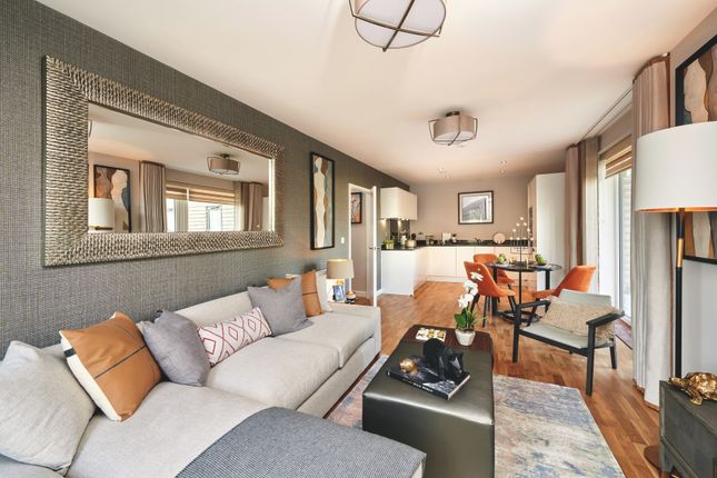 Thumbnail 1 bedroom flat for sale in Hampden Road, London