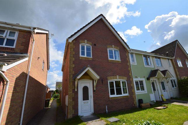 Thumbnail End terrace house for sale in Cynllan Avenue, Llanharan, Pontyclun
