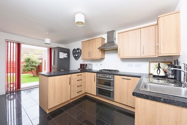 Thumbnail End terrace house for sale in Kirby Drive, Bramley, Tadley