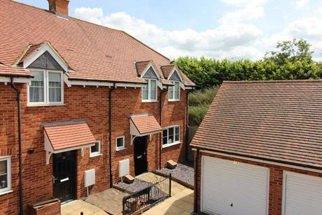Thumbnail End terrace house for sale in River View, Shefford, Beds