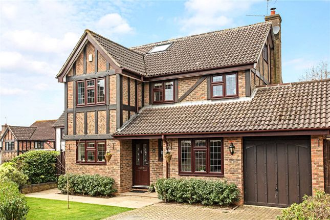 Thumbnail Detached house for sale in Fox Dene, Godalming, Surrey