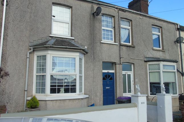 Thumbnail Terraced house for sale in Llantarnam Road, Llantarnam, Cwmbran