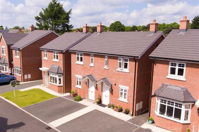 Thumbnail Semi-detached house for sale in Plot 3, Heritage Green, Forden, Welshpool, Powys