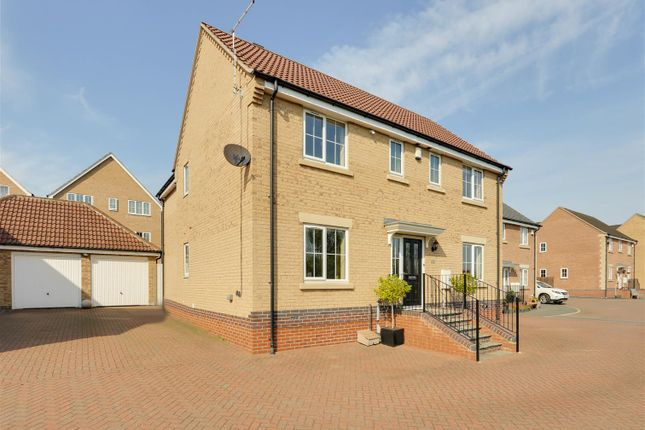 Thumbnail Detached house for sale in Bideford Close, Mapperley, Nottinghamshire