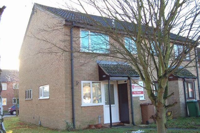 Thumbnail Detached house to rent in Somerville, Werrington, Peterborough