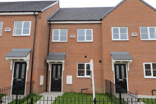 Thumbnail Town house to rent in Bishop Alcock Road, Hull