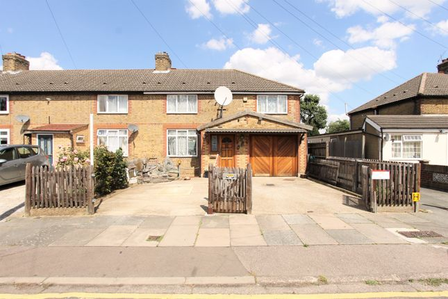 Thumbnail End terrace house for sale in Thornaby Gardens, London