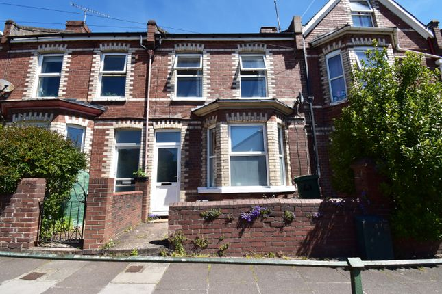 Thumbnail Terraced house for sale in East Wonford Hill, Exeter