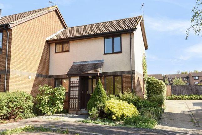 Thumbnail End terrace house for sale in Eldridge Close, Abingdon