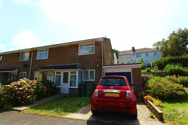 Thumbnail End terrace house for sale in Kingsley Close, St Leonards-On-Sea, East Sussex