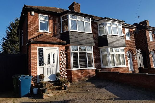 Thumbnail Semi-detached house for sale in Lamorna Grove, Stanmore, Middlesex