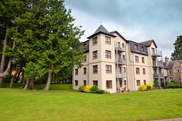 Thumbnail Flat for sale in 12 Firhall House, Firhall Drive, Nairn