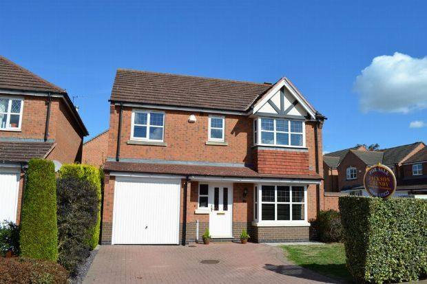 Thumbnail Detached house for sale in Veteran Close, Simpson Manor, Northampton