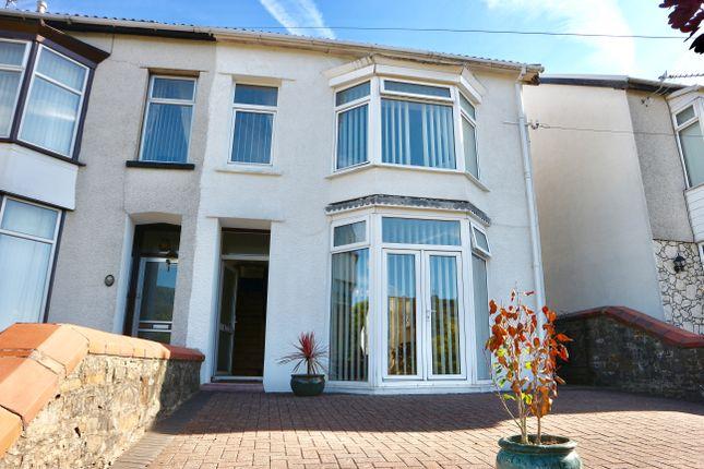 Thumbnail Semi-detached house for sale in Brynhyfryd Villas, Troedyrhiw, Merthyr Tydfil