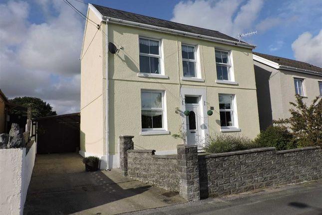 Thumbnail Detached house for sale in Penygraig Road, Cwmllynfell, Swansea