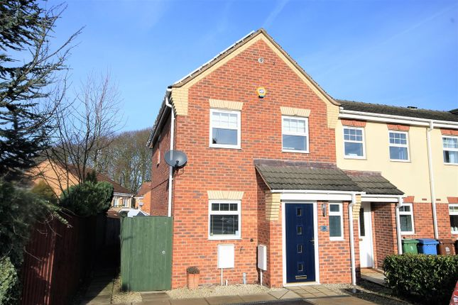 Thumbnail End terrace house to rent in King George V Avenue, Mansfield