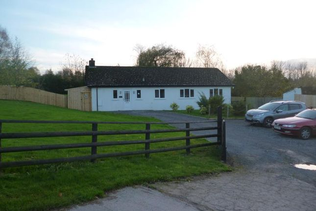 Thumbnail Detached bungalow to rent in Clovercroft, Wernddu, Ross Road, Abergavenny