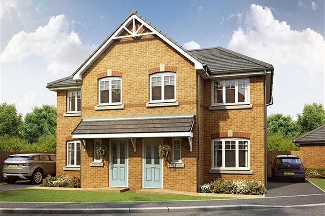 Thumbnail Semi-detached house for sale in Greenhill Close, Penwortham, Preston