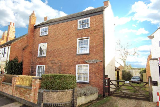 Thumbnail Link-detached house for sale in Melton Road, Syston, Leicester