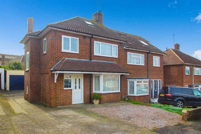 Thumbnail Semi-detached house for sale in Brambletree Crescent, Borstal, Rochester