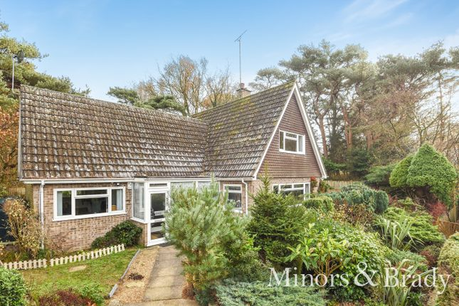 Thumbnail Detached bungalow for sale in Priory Close, St. Olaves, Great Yarmouth