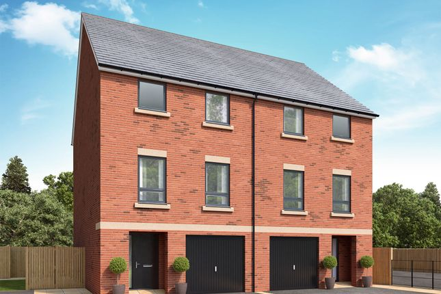 Thumbnail Town house for sale in Off Great North Road, Morpeth, Northumberland