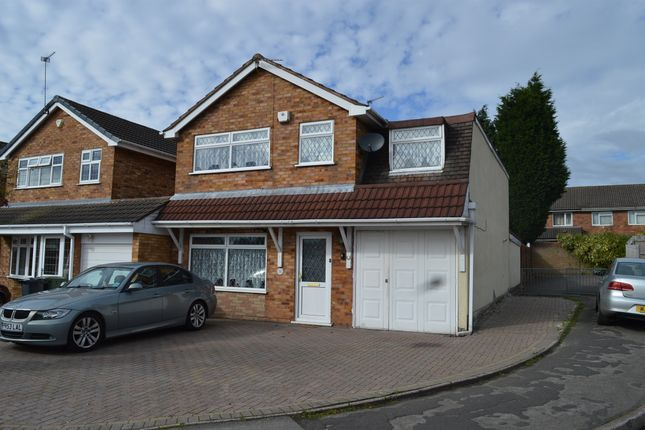 Thumbnail Detached house for sale in Dursley Close, Willenhall