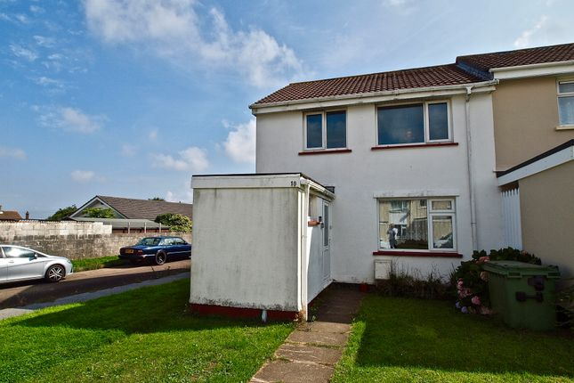 Thumbnail End terrace house for sale in St Meriadoc Road, Camborne