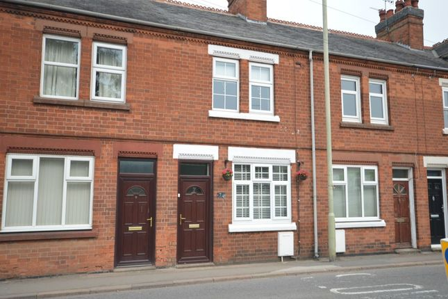 Thumbnail Terraced house for sale in Hinckley Road, Sapcote, Leicester