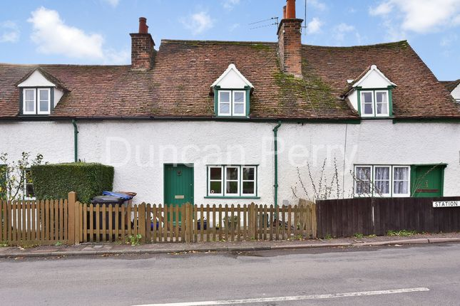 Thumbnail Cottage for sale in Station Road, Welham Green, Herts