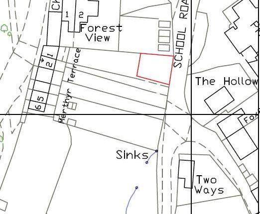 Site Plan of New Road, Hangerberry, Lydbrook GL17