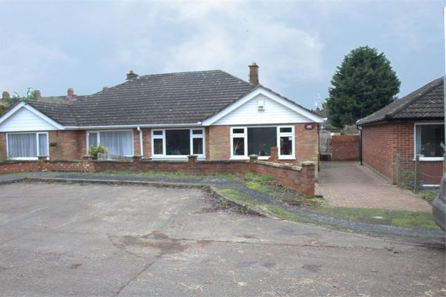 Thumbnail Semi-detached bungalow for sale in Welbourne Close, Raunds, Wellingborough, Northamptonshire