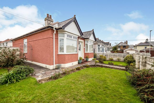 Thumbnail Detached bungalow for sale in Coleridge Avenue, Plymouth