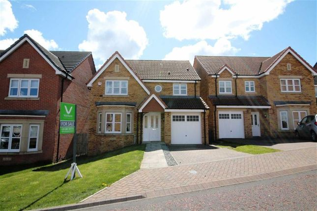 Thumbnail Detached house for sale in Kipling Way, Crook, County Durham