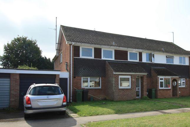 Thumbnail Semi-detached house for sale in Charlbury Road, Shrivenham