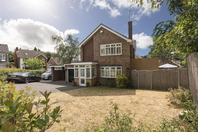 Thumbnail Detached house for sale in Convent Close, Kenilworth